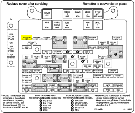 Trailer Park Fuse on 2000 Gmc Sierra Trailer Wiring Diagram