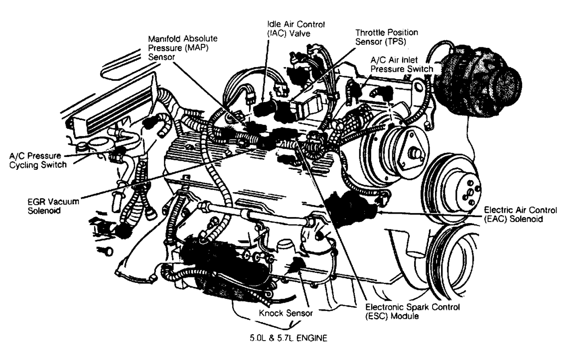 94 Chevy 350 Engine Sensor Diagram Schematics Wiring Diagrams Gm Silverado 4x4 Get Free Image About Timing Gear