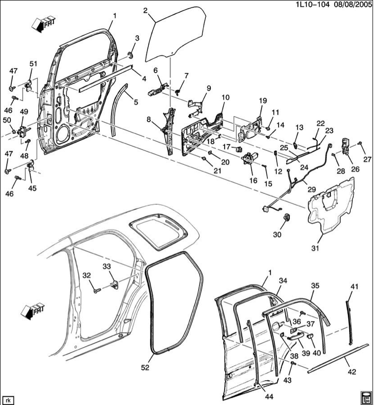 2007 equinox window wiring diagram 2007 equinox parts