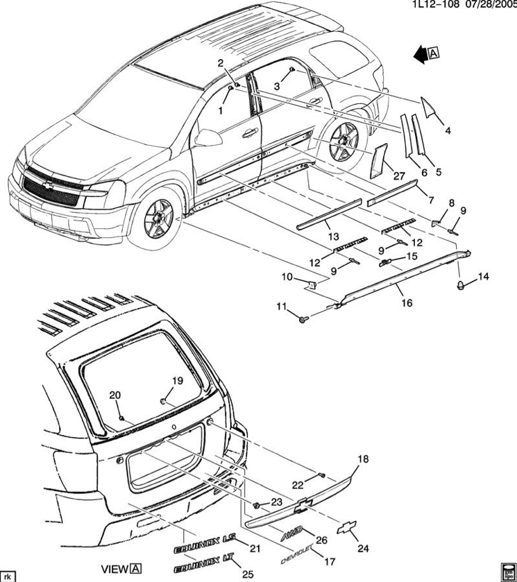 equinox engine diagram schematics wiring diagrams u2022 rh hokispokisrecords com  2007 chevy equinox engine diagram