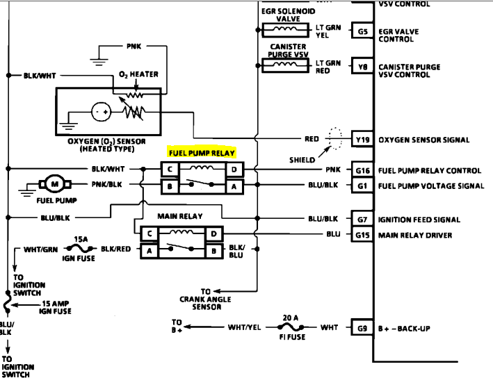 i need a wiring diagram for 350 engine i have a 1991 geo tracker 4 cylinder.i have no signal to ... vani need a wiring diagram for the fuel pump circuit