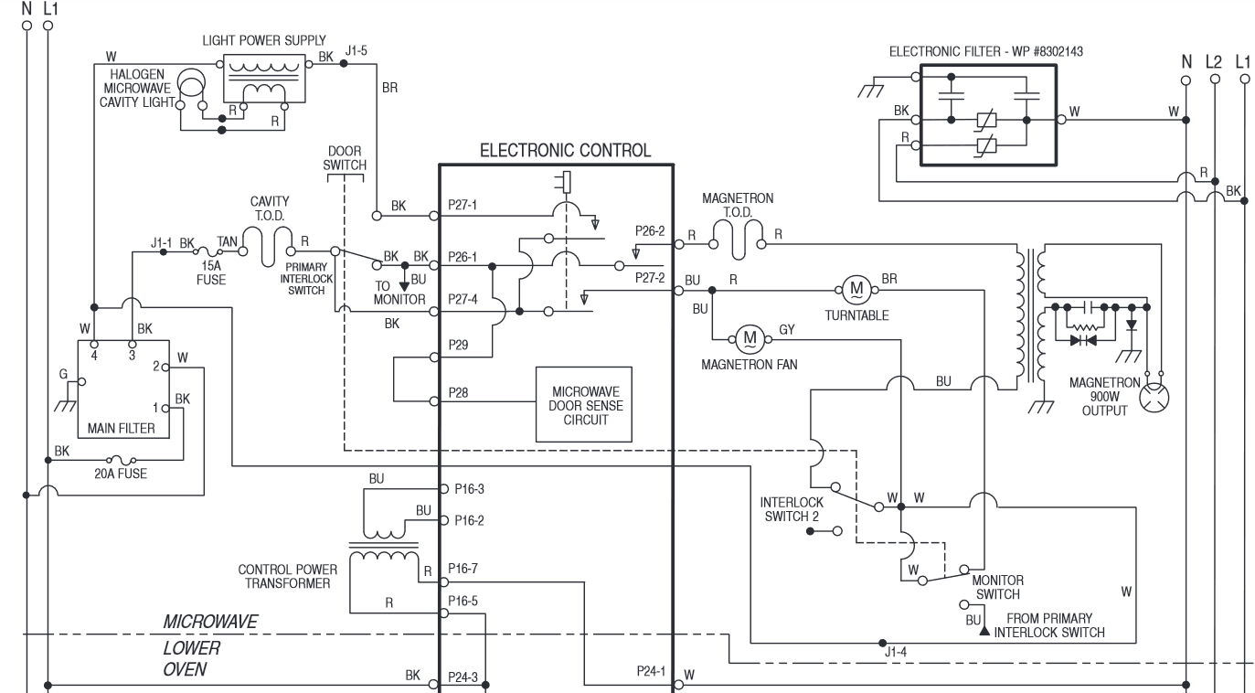 I Need Color Coded Wiring Diagram For The Components Of
