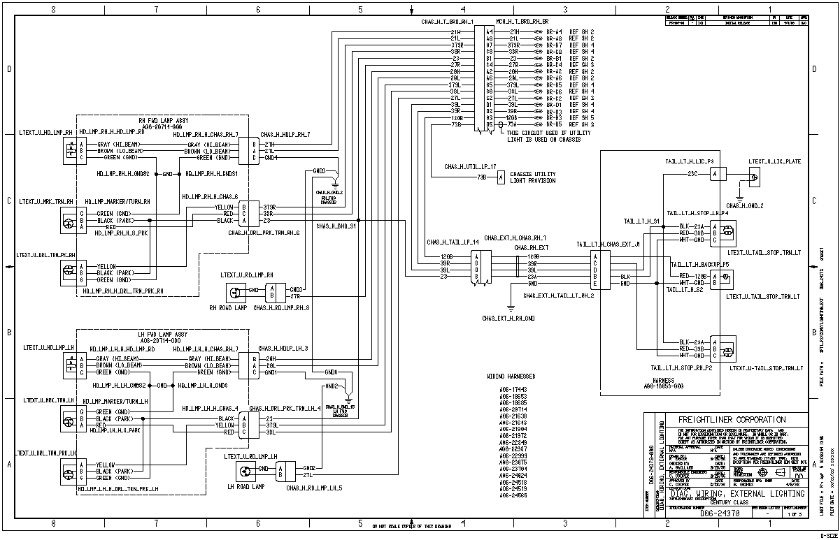 05 freightliner century wiring diagram freightliner stereo wiring diagram i have a 2001 freightliner century. when i turn on ... #15