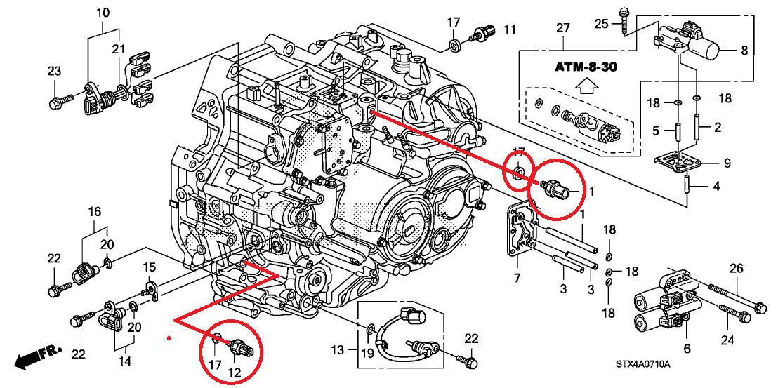 transmission system  p0847 and p0872 and p0420 could i fix this problems with just replacing the