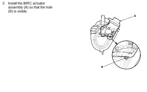 Camshaft Position Sensor >> 2002 Honda CRV How to intake manifold tuning valve control circuit bank 1A0661