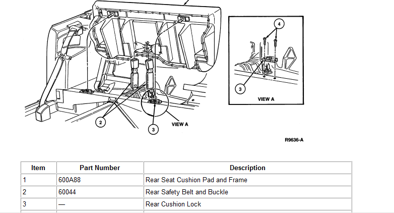 how do i replace rear seat speakers for 1996 ford mustang