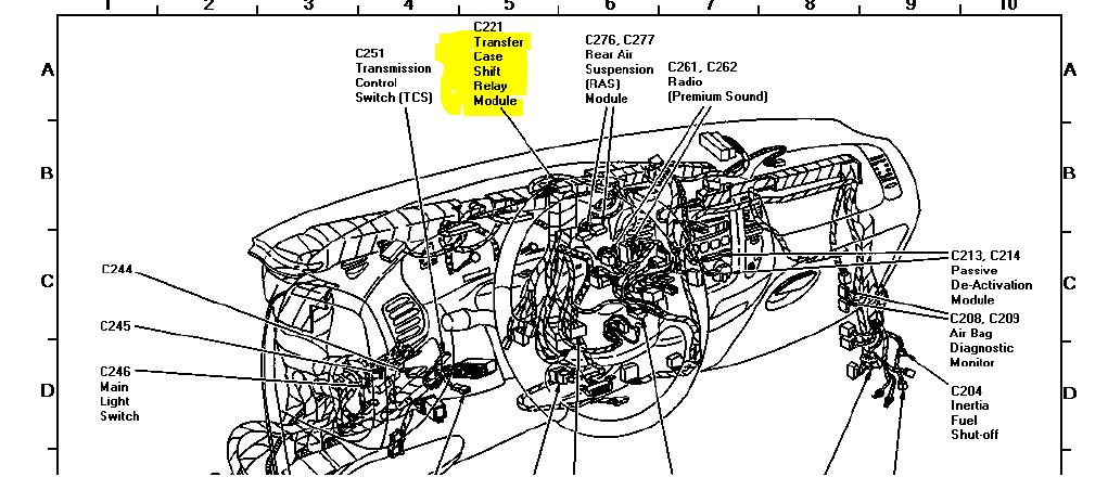 my 1997 ford f150 4x4 can u0026 39 t transfer to 4wheel drive  had