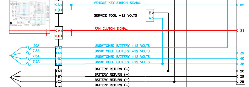 vp44 fuel pump relay power graphic
