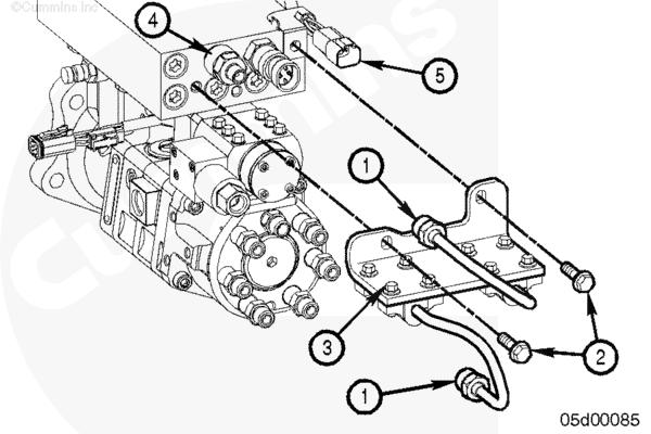 35 cummins isc fuel system diagram