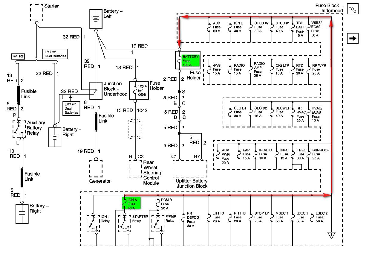 2003 Chevy Silverado 6 0 Gas K2500  Problem Started By A