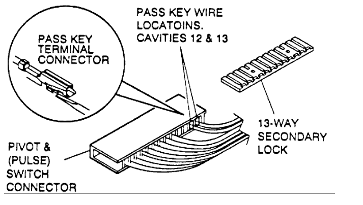 buick century wiring security