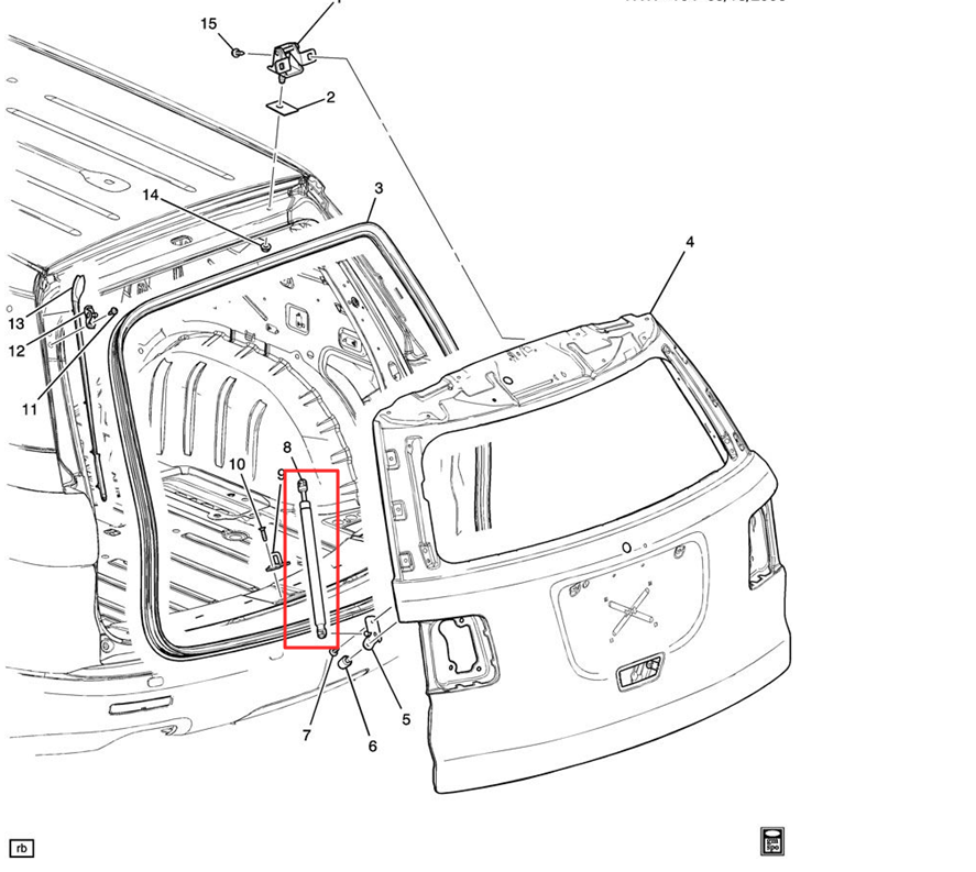 2012 gmc terrain liftgate parts diagram  gmc  auto wiring