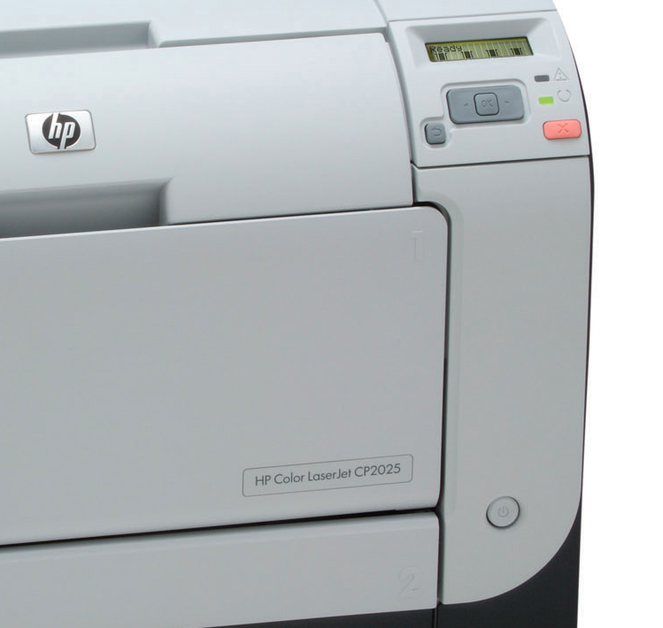 Hp Color Laserjet Cp2025 Message Says Tray 2 Is Overfilled With