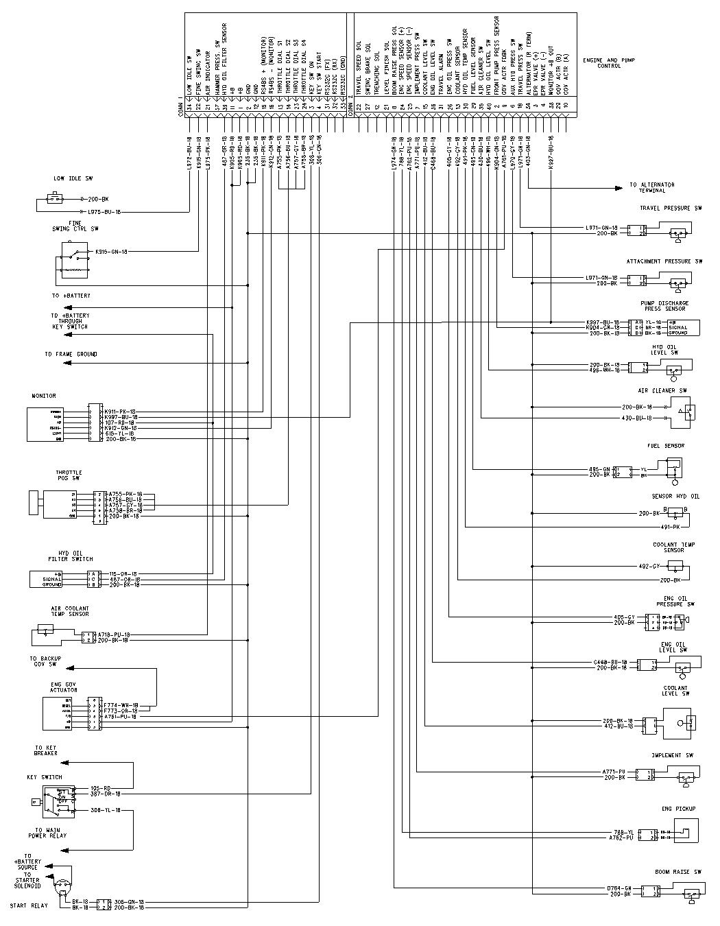 bobcat 226 wiring diagram
