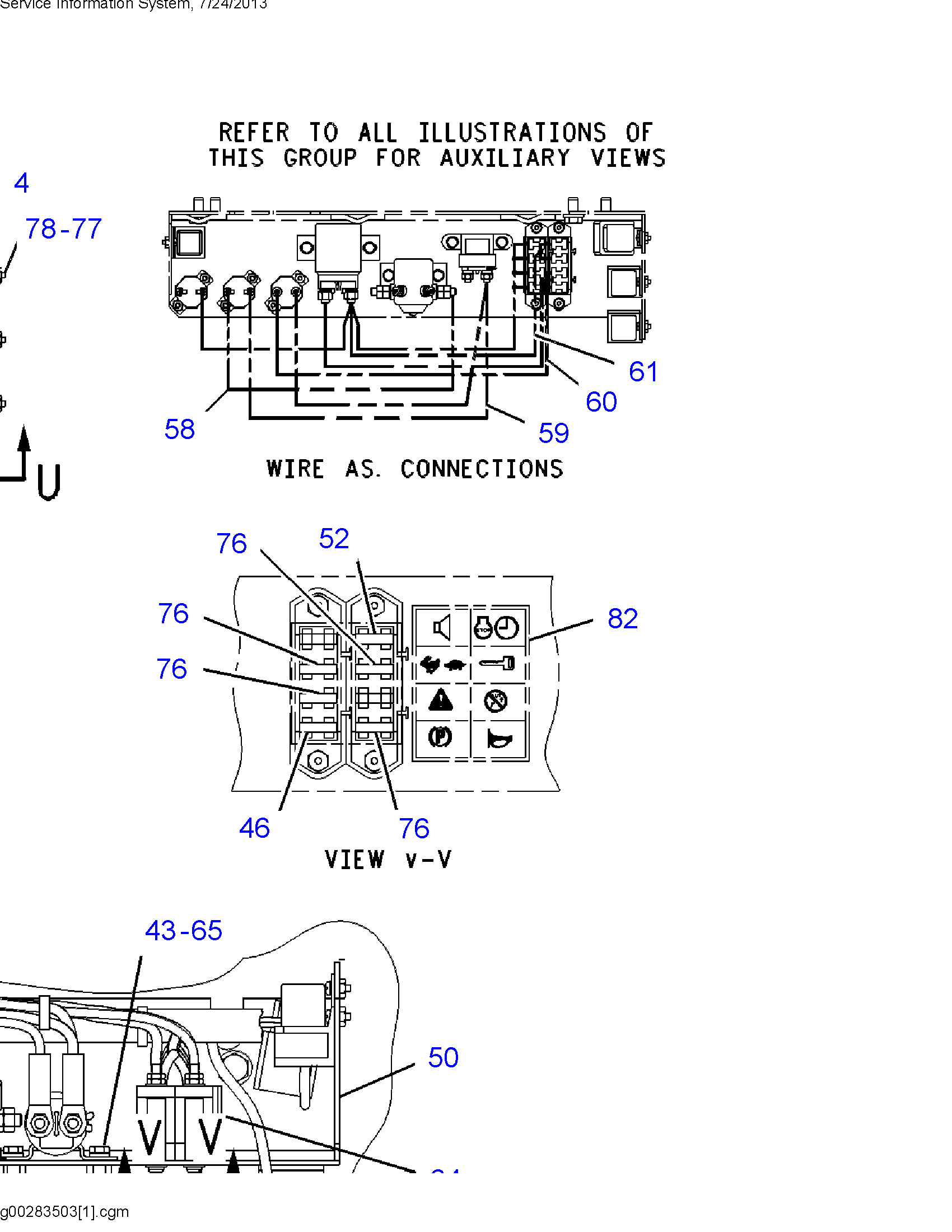 Where Is The Fuse Box For A 2000d5 Cat Bulldozer