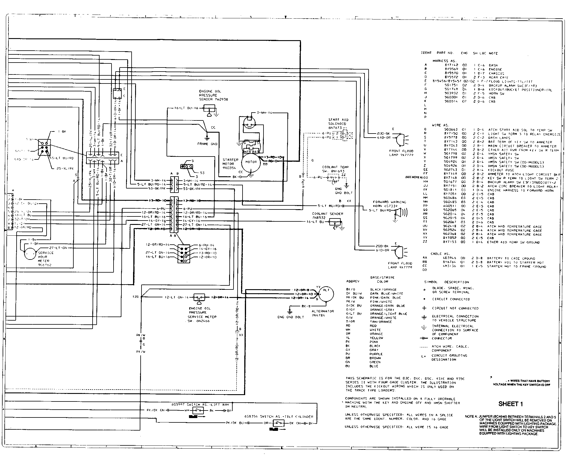 WRG-4083] Cat D4 Wiring Diagram