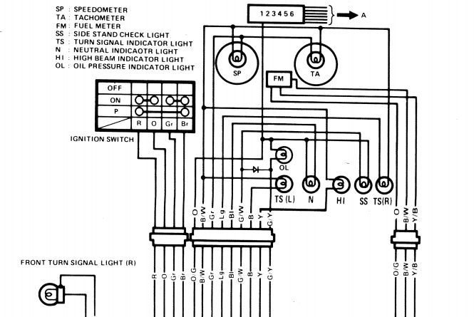 Graphic: 1980 Suzuki Gs550 Wiring Diagram At Jornalmilenio.com
