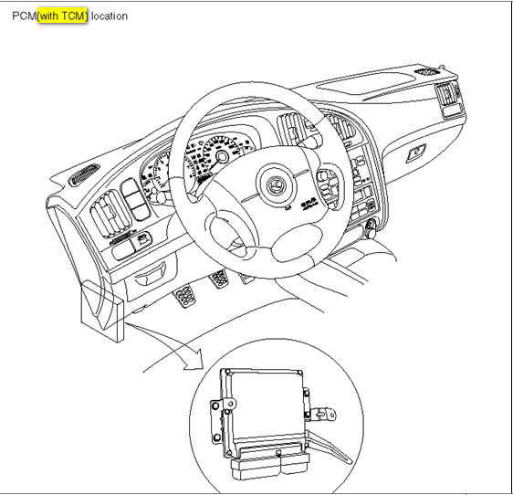 fan relay location kia optima 2012