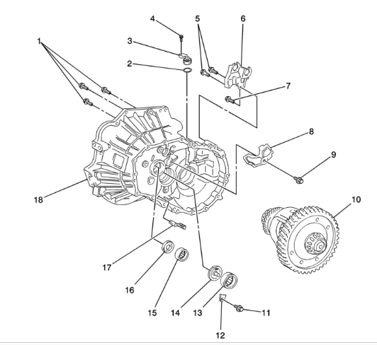 service manual  diagram of transmission dipstick on a 2003