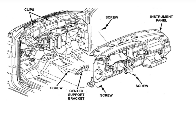 i need to replace the heater core and the a c evaporator in my 1999 dodge dakota slt 3 9 l  4x4