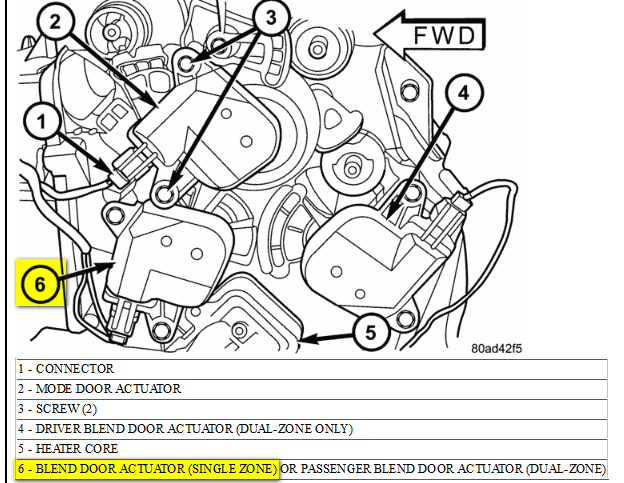2012 10 20_144907_2012 10 20_083425 no heat from heater core and not because of air pockets 1996 Dodge Caravan Blend Door Actuator at mifinder.co