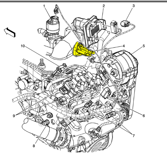 9097CH04 Evaporative Emission Control Sy also Show product likewise 7bnfa Chevrolet Equinox Getting P0455 P0496 I Know besides Timing Arrangement Camshaft And Cranshaft For Xl7 besides Ford Tfi Module Wiring Diagram. on chevy 5 7 engine diagram