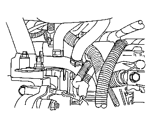 Inlet Heater Hose Diagram