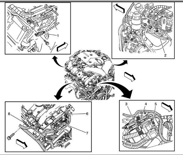 service manual  2004 cadillac escalade esv crankshaft