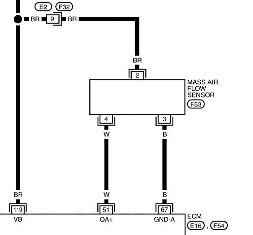 Nissan Maf Sensor Wiring nissan maf sensor wiring diagram ... on