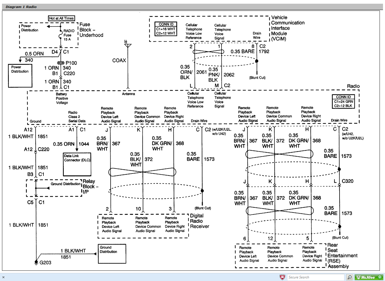 i am trying to find the stereo wiring diagram for a 2003