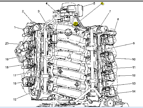 My Girlfriends 2006 Pontiac Grand Prix Gxp With The 53l V8 Has Been Rhjustanswer: 2006 Pontiac Grand Prix Oil Pressure Sensor Location At Gmaili.net