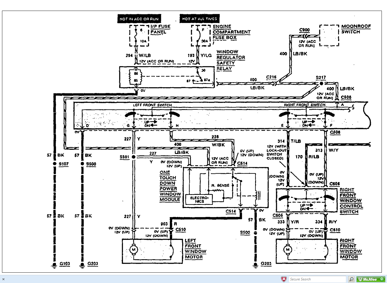 i needed to see where i can find a complete power window wiring diagram for a 1993 lincoln town ... power window switch wiring diagram 1999 lincoln