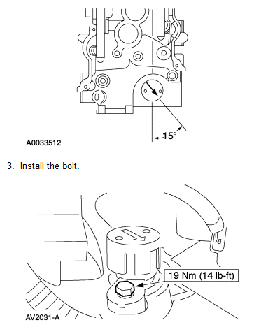Ranger Camshaft Position Synchronizer Need To Set Correct