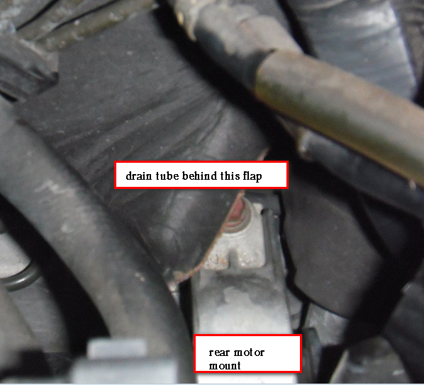 Can You Provide A Better Picture Of The Drain Tube In A