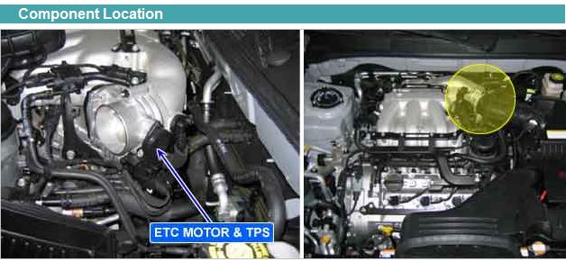 Kia amanti surged lost throttle response no code shut off