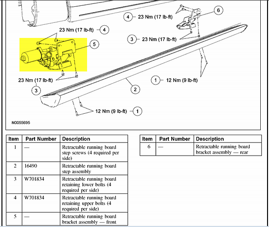2007 lincoln navigator passenger running board wont retract every rh justanswer com Plug Board wiring running board lights f 250 ford