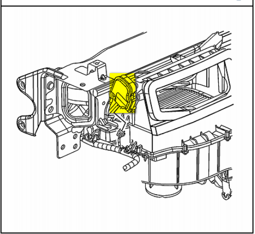 service manual  how to replace hvac door actuator 2007