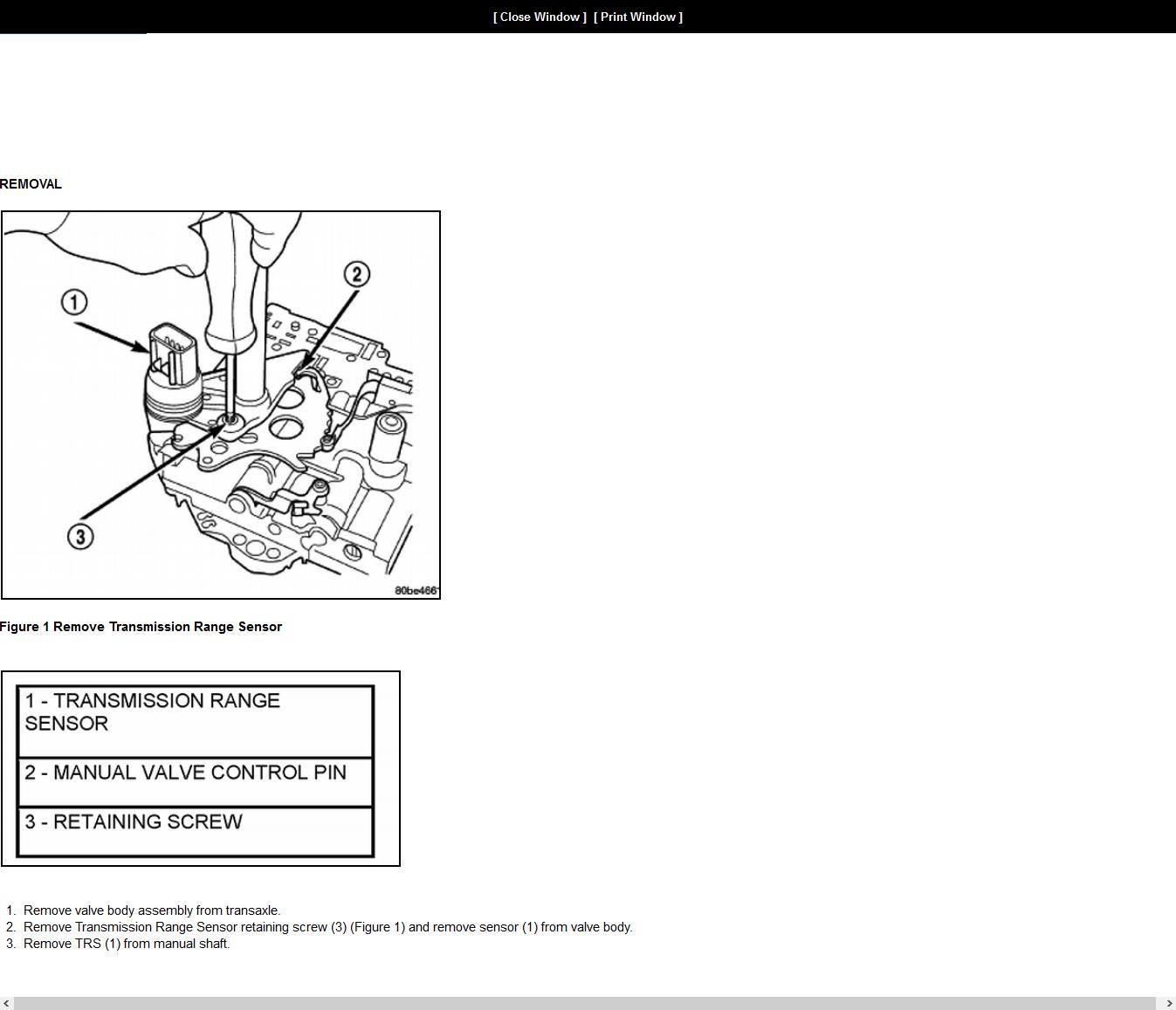 2003 Dodge Caravan Wiring Diagram Chrysler Neutral Safety ... on