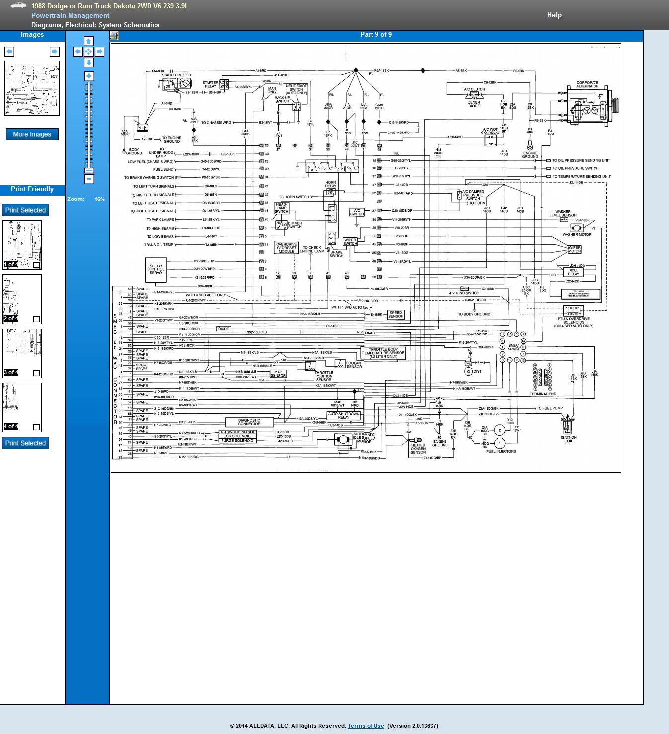 40 Dodge Dakota Wiring Diagram   Data Wiring Pair forum summer ...