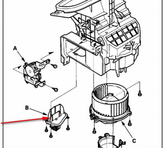 Rear Blower Motor Not Working