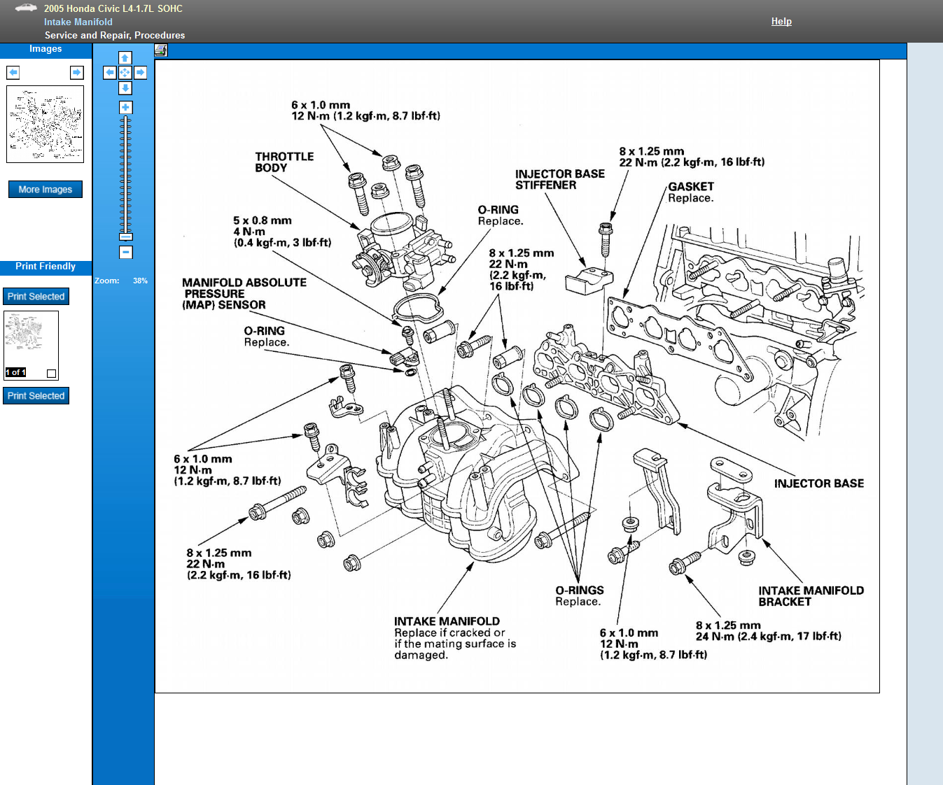 Honda techs. on a 2005 civic 1.7 engine whats procedure to r&r the