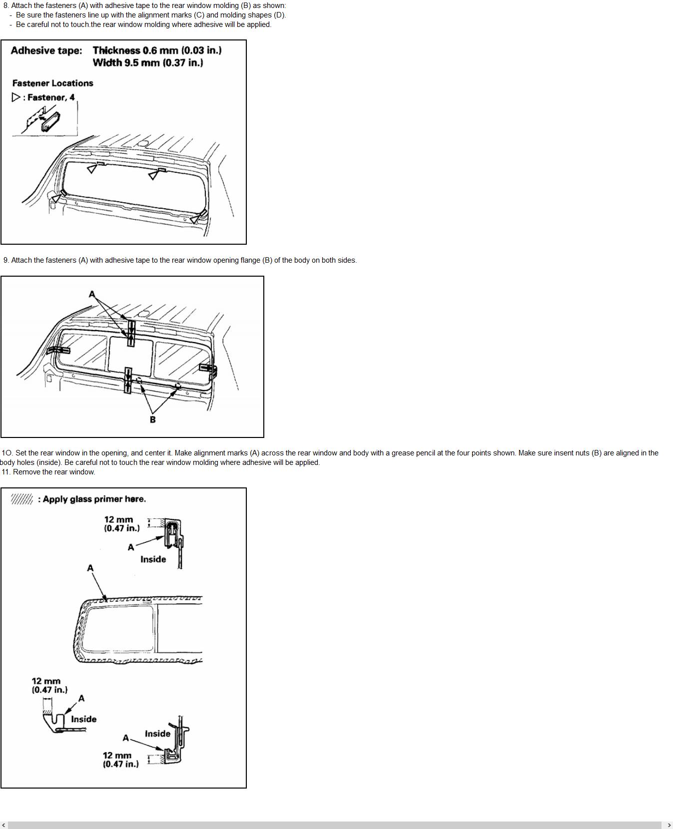 2006 Honda Ridgeline Fuse Box Diagram Image Details