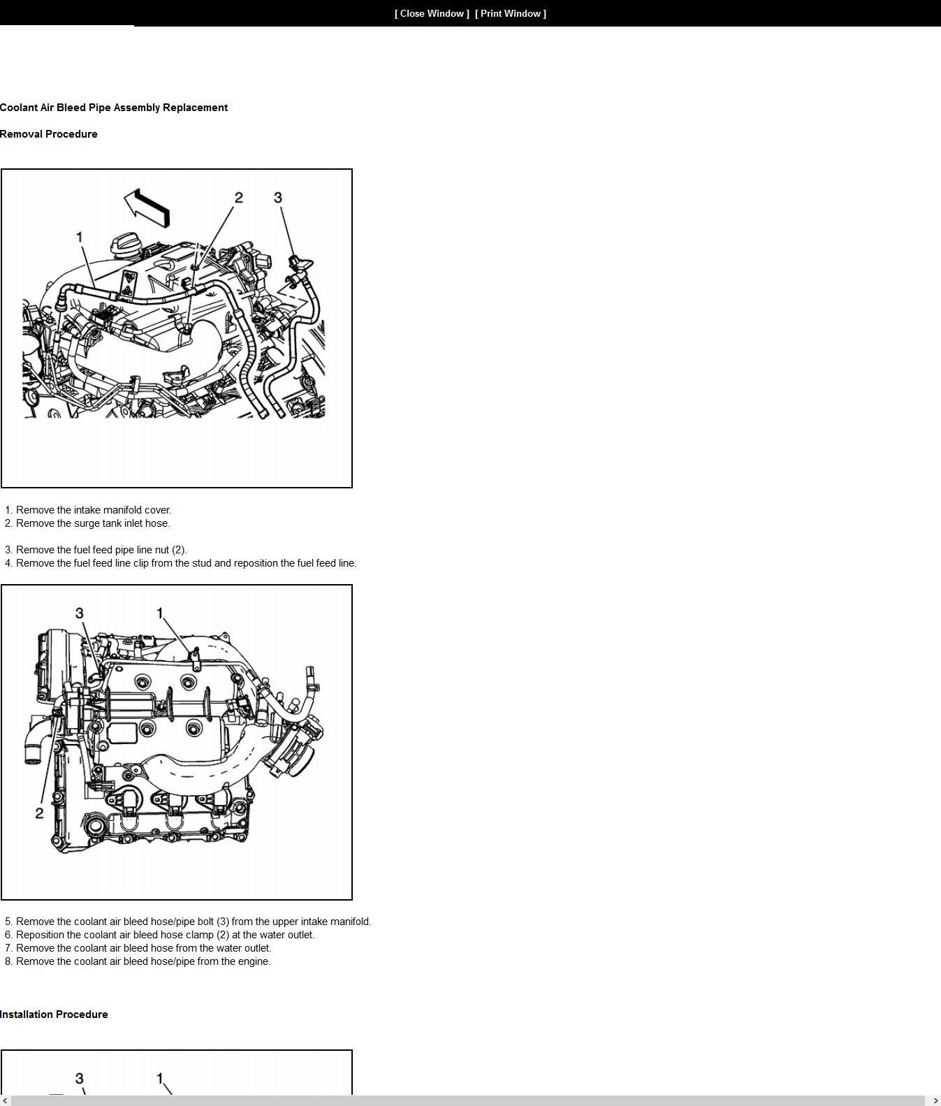 I Have A Coolant Leak Ion A 2008 Pontiac G6 3 5l Passenger