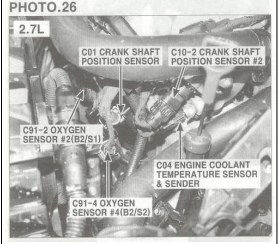 Looking For Help On The Location Of Crankshaft Position Sensor Rhjustanswer: 2007 Hyundai Santa Fe Cam Sensor Location At Gmaili.net