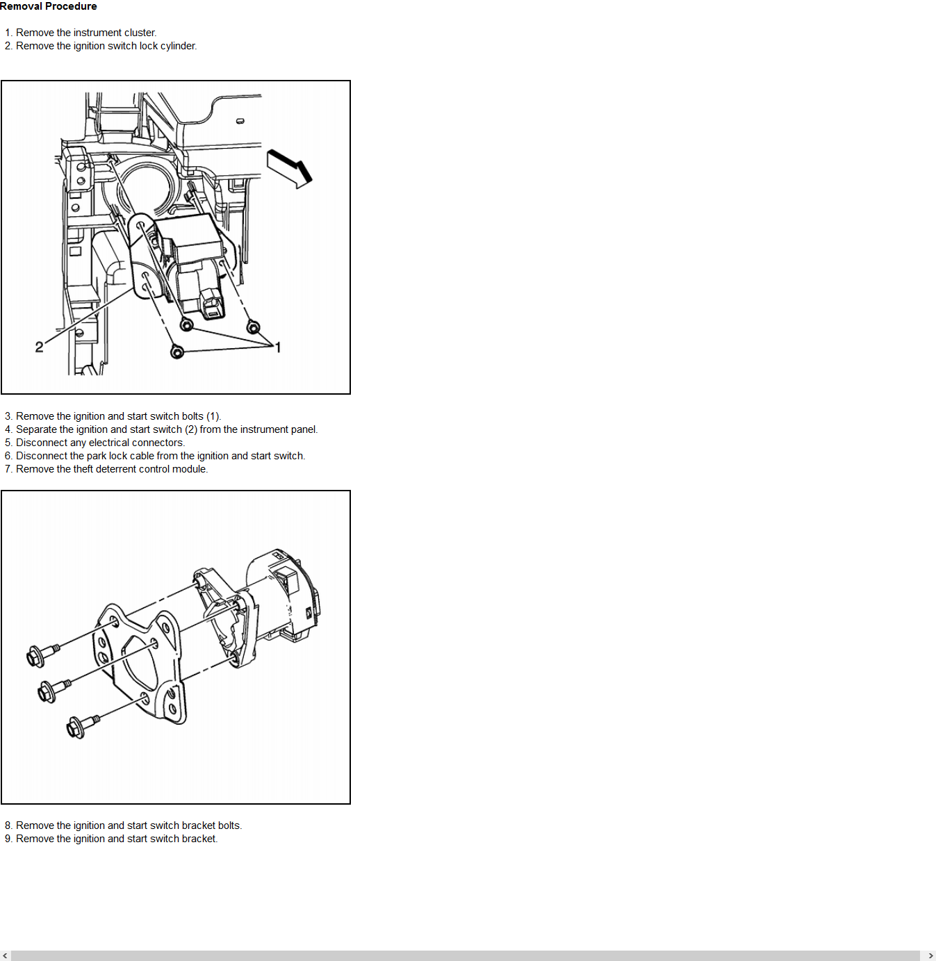 How Do You Remove The Ignition Switch From A 2008 Saturn Aura Xe 35l Diagram Graphic