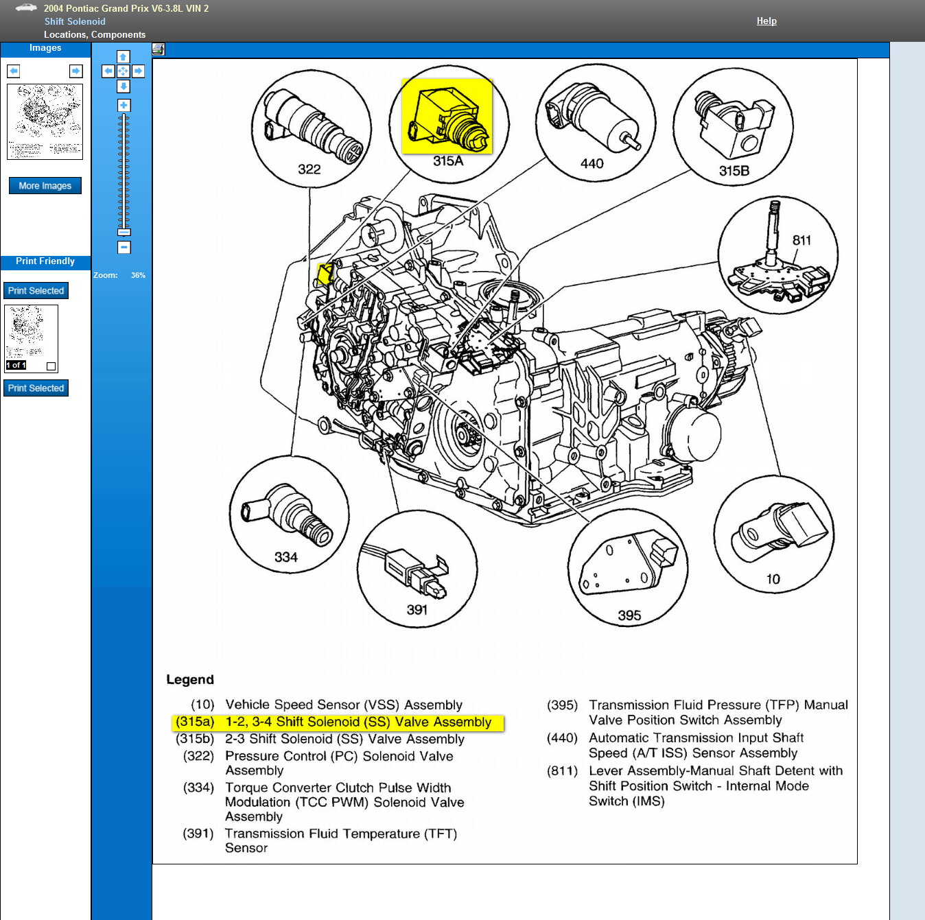 2004 Pontiac Grand Prix Transmission Diagram Wiring Diagrams Schematic V6 Engine Cooling System 3800 Series Iii With A P0751 Code Im Sure 1997 Jeep Cherokee
