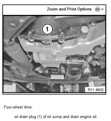 how to find oil drain plug