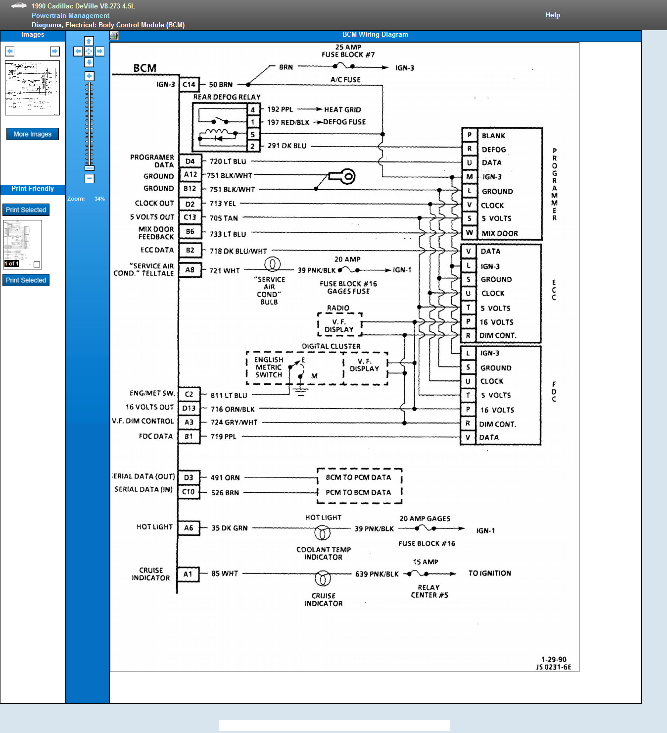 I Am Looking For The Body Control Module Diagram