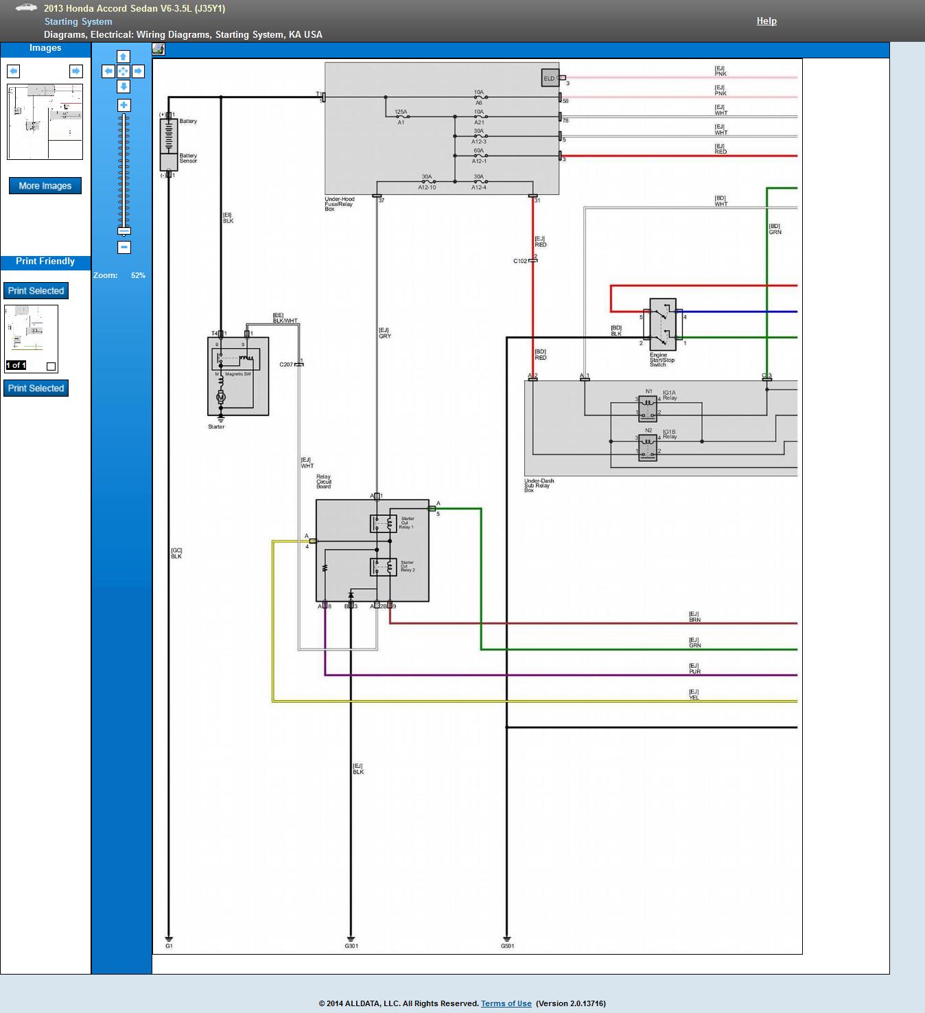 I Need 2013 Honda Accord Wiring Diagram Push To Start