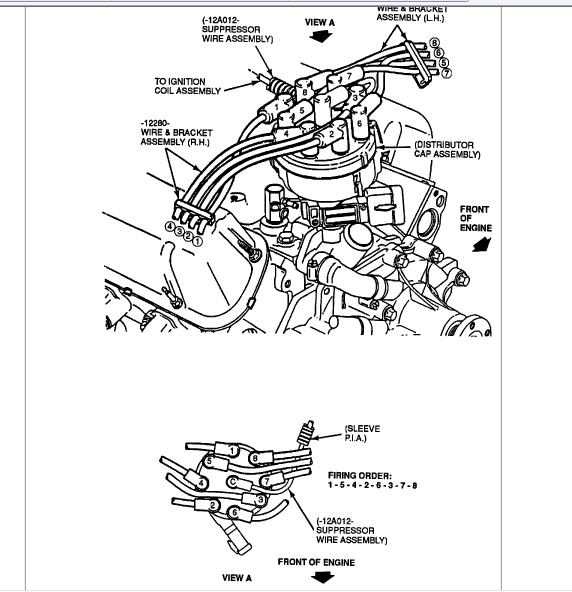 f150 hello hope you can help i have a 1991 ford f150 with rh justanswer com Ford 302 Water Pump Diagram 1995 Ford 302 Engine Diagram